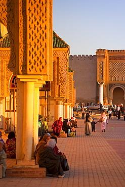 Place el Hedim, Meknes, UNESCO World Heritage Site, Morocco, North Africa, Africa