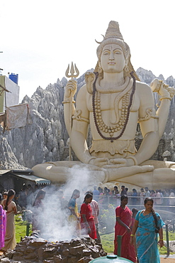 Shiva Mandir temple, Bengaluru (Bangalore), Karnataka state, India, Asia