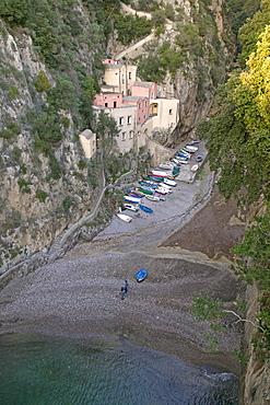 Furore, Amalfi coast, Campania, Italy, Europe