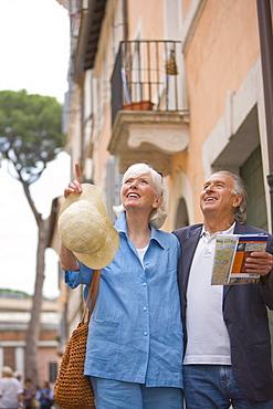 Senior tourists sightseeing, Rome, Lazio, Italy, Europe