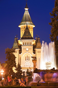 Metropolitan Cathedral, Timisoara, Romania, Europe