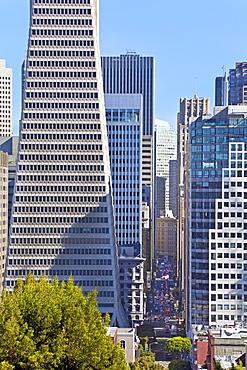Trans America Building, San Francisco, California, United States of America, North America