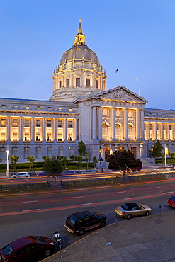 City Hall, Civic Center Plaza, San Francisco, California, United States of America, North America