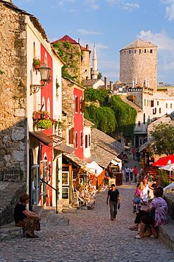 The old town of Mostar, UNESCO World Heritage Site, Herzegovina, Bosnia-Herzegovina, Europe