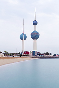 The Kuwait Towers, Kuwait City, Kuwait, Middle East