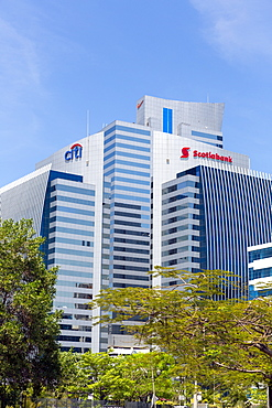 Financial buildings, Panama City, Panama, Central America