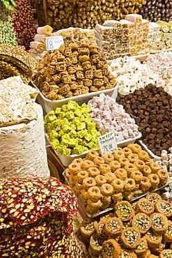 The Spice Bazaar, Sultanhamet, Istanbul, Turkey, Europe
