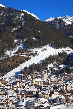 Ischgl in winter, Tirol, Austrian Alps, Austria, Europe