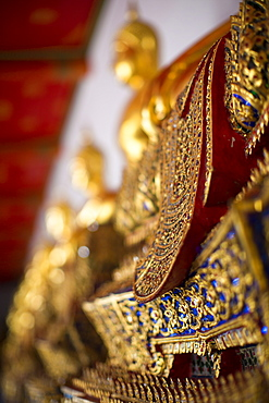 Wat Pho (Wat Phra Chetuphon) (Temple of the Reclining Buddha), Bangkok, Thailand, Southeast Asia, Asia