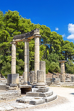 Archaeological Site of Olympia, UNESCO World Heritage Site, an ancient site on Greece's Peloponnese peninsula, Greece, Europe