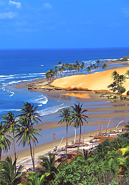 Beach in Fortaleza, Ceara, Brazil, South America