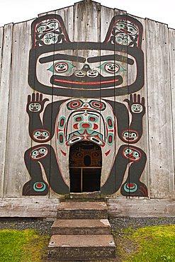 Chief Shakes Tribal House, historic site, Wrangell, Southeast Alaska, United States of America, North America