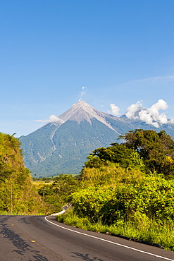 Fuego Volcano, Antigua, Guatemala, Central America
