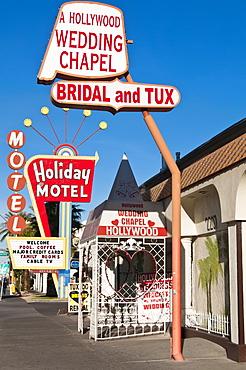 A Hollywood Wedding Chapel, Las Vegas, Nevada, United States of America, North America