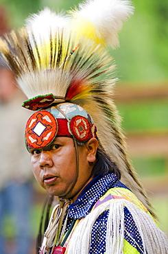 Powwow in Canim Lake, British Columbia, Canada, North America