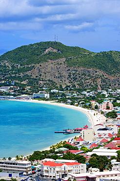 Philipsburg, St. Martin (St. Maarten), Netherlands Antilles, West Indies, Caribbean, Central America