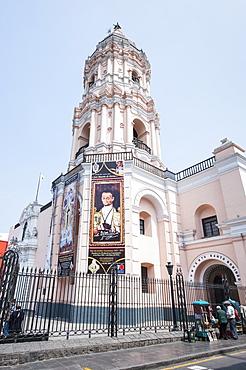 The Church and Convent of Santo Domingo, Lima, Peru, South America