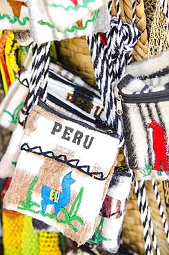 Local souvenirs in Monsefu near Chiclayo, Peru, South America