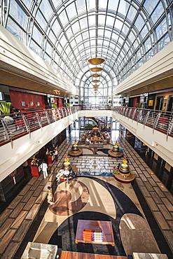Lobby of the Dusit Thani Hotel, Dubai, United Arab Emirates, Middle East