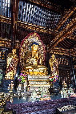 Wild Goose Pagoda, Xian, Shaanxi, China, Asia