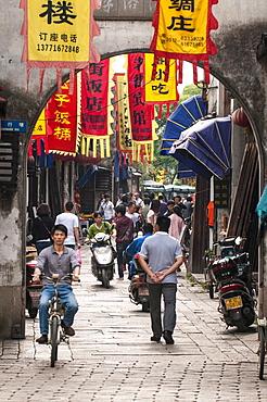 The water village of Tongli, Jiangsu, China, Asia