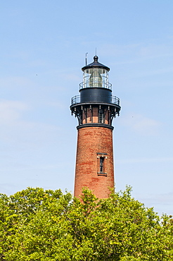 Currituck Beach Lighthouse, Corolla, Outer Banks, North Carolina, United States of America, North America