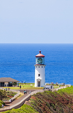 Historic Kilauea Lighthouse on Kilauea Point National Wildlife Refuge, Kauai, Hawaii, United States of America, Pacific