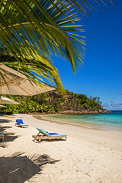 Petit Anse Beach, Mahe, Republic of Seychelles, Indian Ocean, Africa