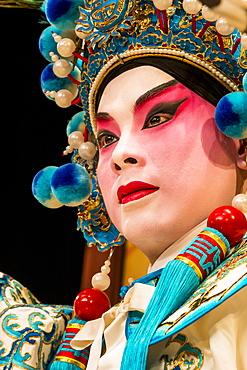 Chinese Opera performer, Ko Shan Theatre, Kowloon, Hong Kong, China, Asia