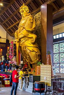 Statue of General Che Kung, Che Kung Temple, Tai Wai, Hong Kong, China, Asia