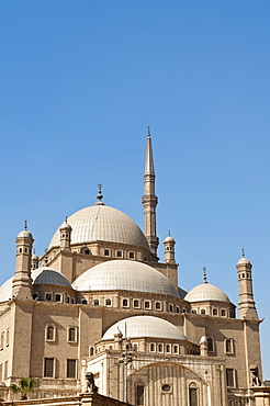 Mosque of Muhammad Ali Pasha (Alabaster Mosque), The Citadel, Cairo, Egypt, North Africa, Africa