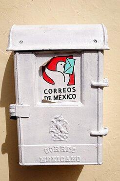 Mexico, Bajio, Zacatecas, Post box.
