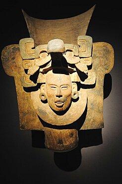 Mexico, Federal District, Mexico City, Museo Nacional de Antropologia Urn 100 BC-200 AD from Monte Alban.