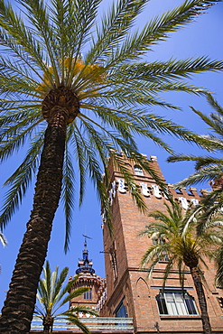 Spain, Catalonia, Barcelona, Castell dels Tres Dragons built for the 1888 Universal Exhibition now housing the Museum of Natural Science and Zoological Museum in Parc de la Ciutadella in the Old Town district.