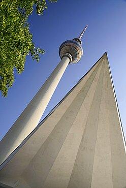 Germany, Berlin, Fernsehturm, Berlin's TV Tower.