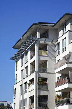 Germany, Berlin, Mitte, typical new apartment blocks.