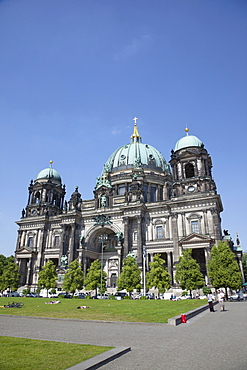 Germany, Berlin, Mitte, Museum Island, Berliner Dom Cathedral.