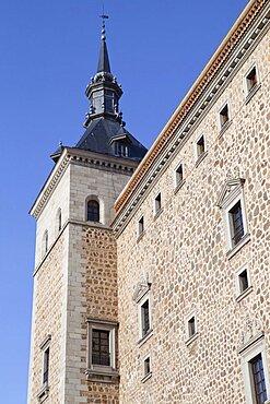 Spain, Castilla La Mancha, Toldeo, The Alcazar.