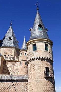 Spain, Castille-Leon, Segovia, The Alcazar.