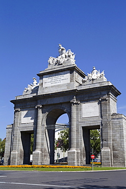 Spain, Madrid , Puerta de Toledo.