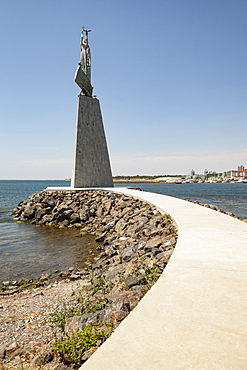 Bulgaria, Nessebar, Saint Nicholas Monument.