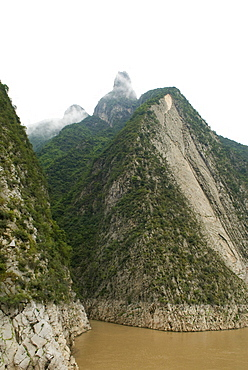 Gathering Immortals Peak in the Wu Gorge, Three Gorges, Hubei, China