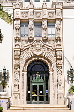 Doorway Beverly Hills City Hall, Beverly Hills, United States of America