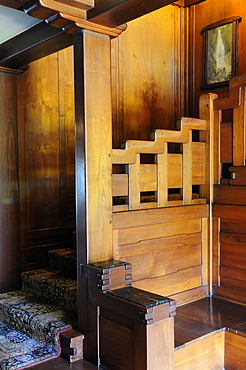 Staircase The Gamble House Pasadena, Valley & Pasadena, United States of America