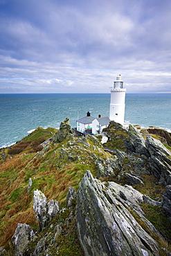 Start Point Lighthouse, South Hams, Devon, England, United Kingdom, Europe
