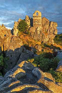St. Michael's Chapel on Roche Rock, Cornwall, England, United Kingdom, Europe