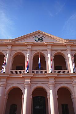 Museo del Congreso Nacional (Museum of the National Congress), formerly the Cabildo, Asuncion, Paraguay, South America