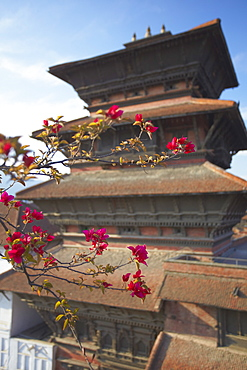 Basantapur Tower, Durbar Square, UNESCO World Heritage Site, Kathmandu, Nepal, Asia
