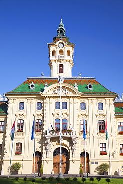 Town Hall, Szeged, Southern Plain, Hungary, Europe