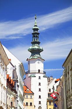 Michael's Gate, Bratislava, Slovakia, Europe